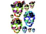 Naljepnice za zid Maske od cvijeća F1060
