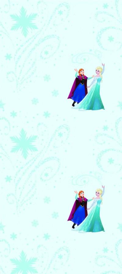 Dječja flis tapeta Snježno kraljevstuo WPD9778 - Akcija