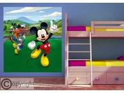 Flis foto tapeta Mickey Mouse FTDNXL-5148 | 180x202 cm Foto tapete