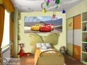 Flis foto tapeta AG Cars FTDNH-5377 | 202x90 cm Foto tapete