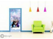 Flis foto tapeta AG Frozen FTDNV-5481 | 90x202 cm Foto tapete