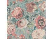 Flis tapeta za zid cvijetni motiv Barbara 527858, Ljepilo besplatno Na skladištu