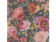 Flis tapeta za zid cvijeće Barbara 527865, Ljepilo besplatno Na skladištu