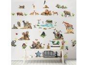 Dječja naljepnica Walltastic Safari 45439 Naljepnice za dječju sobu