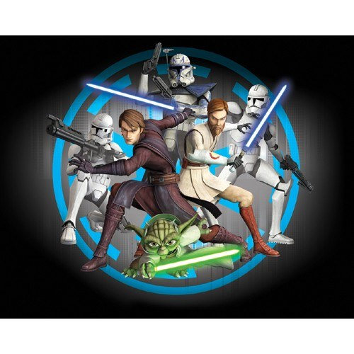 3D foto tapeta Walltastic Star Wars 40908 | 305x244 cm