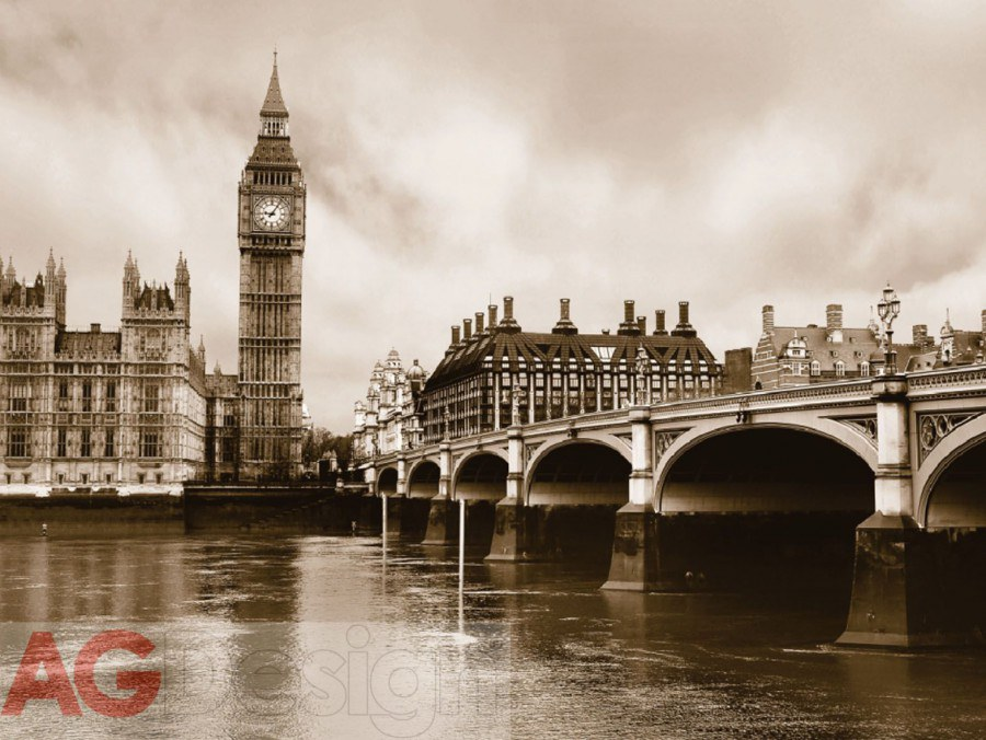 Foto tapeta AG London FTS-0480 | 360x254 cm - Foto tapete