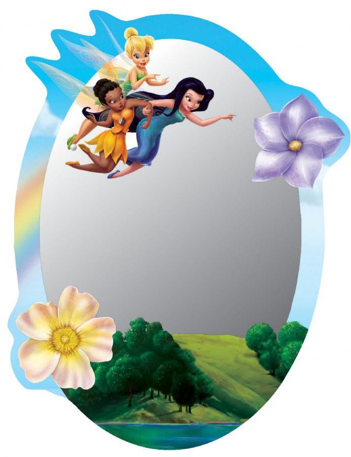 Dječje naljepnice ogledalo Fairies DM-2105, 15x22 cm - Naljepnice za dječju sobu