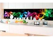 Samoljepljiva foto tapeta za kuhinje - Crni dim KI-350-081 | 350x60 cm Foto tapete