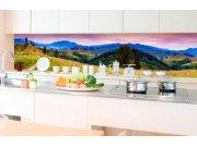 Samoljepljiva foto tapeta za kuhinje - Priroda s crvenima KI-350-082 | 350x60 cm Foto tapete