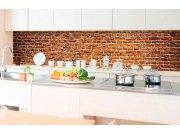 Samoljepljiva foto tapeta za kuhinje - Stara cigla KI-350-087 | 350x60 cm Foto tapete