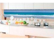 Samoljepljiva foto tapeta za kuhinje - Plaža KI-350-090 | 350x60 cm Foto tapete