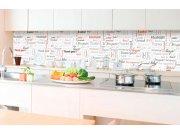 Samoljepljiva foto tapeta za kuhinje - Hvala ti KI-350-094 | 350x60 cm Foto tapete