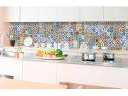 Samoljepljiva foto tapeta za kuhinje - Portugalske pločice KI-350-097 | 350x60 cm Foto tapete
