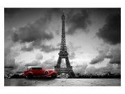 Flis fototapeta Retro auto u Parizu MS50027 | 375x250 cm Foto tapete