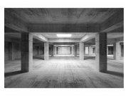 Flis fototapeta 3D industrijska dvorana MS50035 | 375x250 cm Foto tapete