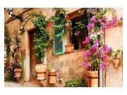 Flis foto tapeta Vrt na ulici MS50046 | 375x250 cm Foto tapete