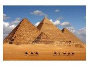 Flis fototapeta Egipatska piramida MS50051 | 375x250 cm Foto tapete