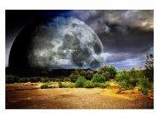 Flis foto tapeta Mjesec MS50185 | 375x250 cm Foto tapete