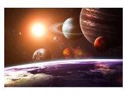 Flis foto tapeta Sunčev sustav MS50188 | 375x250 cm Foto tapete