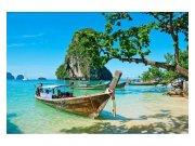 Flis foto tapeta Tajlandski brod MS50198 | 375x250 cm Foto tapete
