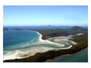 Flis foto tapeta Pogled na plažu iz visine MS50202 | 375x250 cm Foto tapete