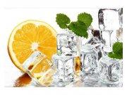 Flis foto tapeta Limun i led MS50238 | 375x250 cm Foto tapete