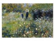 Flis foto tapeta Ženy v zahradě od Pierra Avgvsta Renoira MS50256 | 375x250 cm Foto tapete