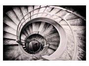 Flis fototapeta 3D spiralna stubišta MS50271 | 375x250 cm Foto tapete