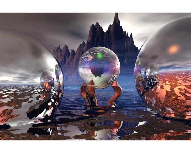 Flis foto tapeta Kristali MS50292 | 375x250 cm - Foto tapete