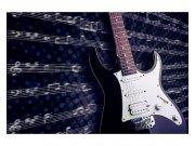 Flis foto tapeta Električna gitara MS50304 | 375x250 cm Foto tapete