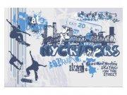 Flis foto tapeta Skate MS50313 | 375x250 cm Foto tapete