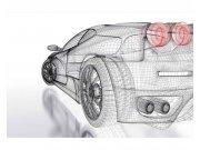 Flis fototapeta Svijetli model auta MS50316 | 375x250 cm Foto tapete