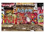 Flis foto tapeta Ulica sa graffitima MS50321 | 375x250 cm Foto tapete