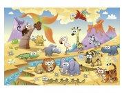 Flis fototapeta Životinje iz savane MS50333 | 375x250 cm Foto tapete