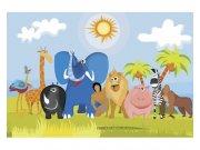 Flis fototapeta Životinje u Africi MS50338 | 375x250 cm Foto tapete