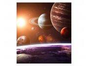 Flis fototapeta Sunčev sustav MS30188 | 225x250 cm Foto tapete