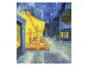 Flis foto tapeta Terasa kafića od Vincenta van Gogha MS30251 | 225x250 cm Foto tapete