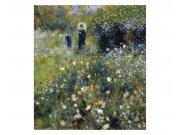 Flis foto tapeta Ženy v zahradě od Pierra Avgvsta Renoira MS30256 | 225x250 cm Foto tapete