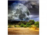 Flis foto tapeta Mjesec MS30185 | 225x250 cm Foto tapete