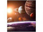 Flis foto tapeta Sunčev sustav MS30188 | 225x250 cm Foto tapete
