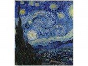 Flis foto tapeta Zvjezdana noć od Vincenta van Gogha MS30250 | 225x250 cm Foto tapete