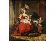 Flis foto tapeta Marie Antoinetta od Vigeé le Brvna MS30253 | 225x250 cm Foto tapete