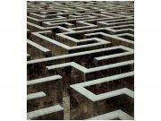 Flis foto tapeta 3D labirint MS30279   225x250 cm Foto tapete