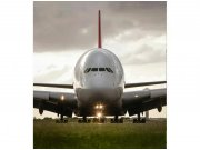 Flis foto tapeta Airbus MS30318 | 225x250 cm Foto tapete