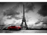 Flis foto tapeta Retro auto u Parizu MS50027 | 375x250 cm Foto tapete