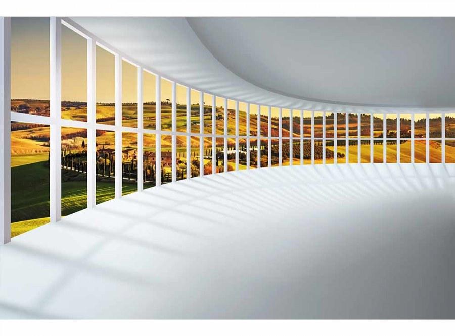 Flis foto tapeta Dvorana s pogledom MS50040 | 375x250 cm - Foto tapete