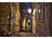Flis foto tapeta Uličica MS50043 | 375x250 cm Foto tapete