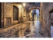 Flis foto tapeta Drevna ulica MS50048 | 375x250 cm Foto tapete
