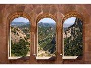 Flis foto tapeta Urezani prozor MS50049 | 375x250 cm Foto tapete