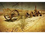 Flis foto tapeta Stari vagon MS50058 | 375x250 cm Foto tapete